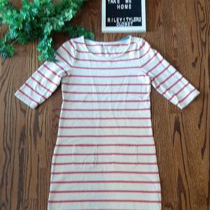 BODEN striped cotton dress